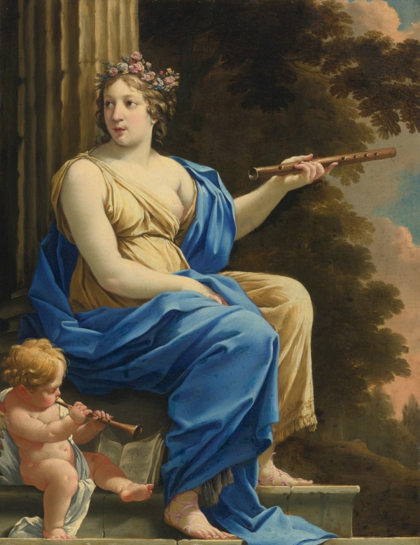 Simon Vouet - Euterpe